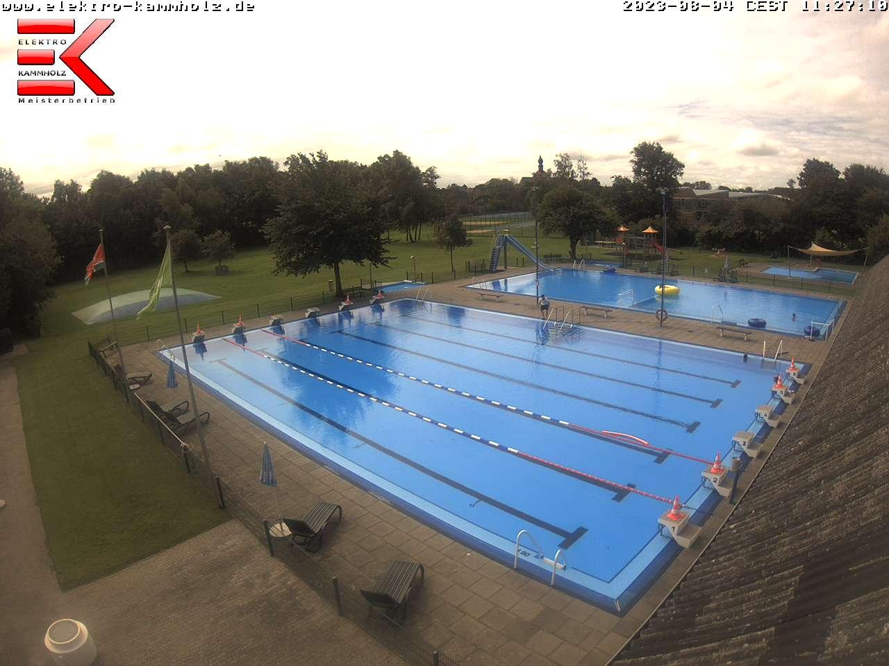 WebCam-Bild des Freibads